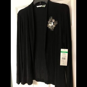 Black Laura Ashley Cardigan